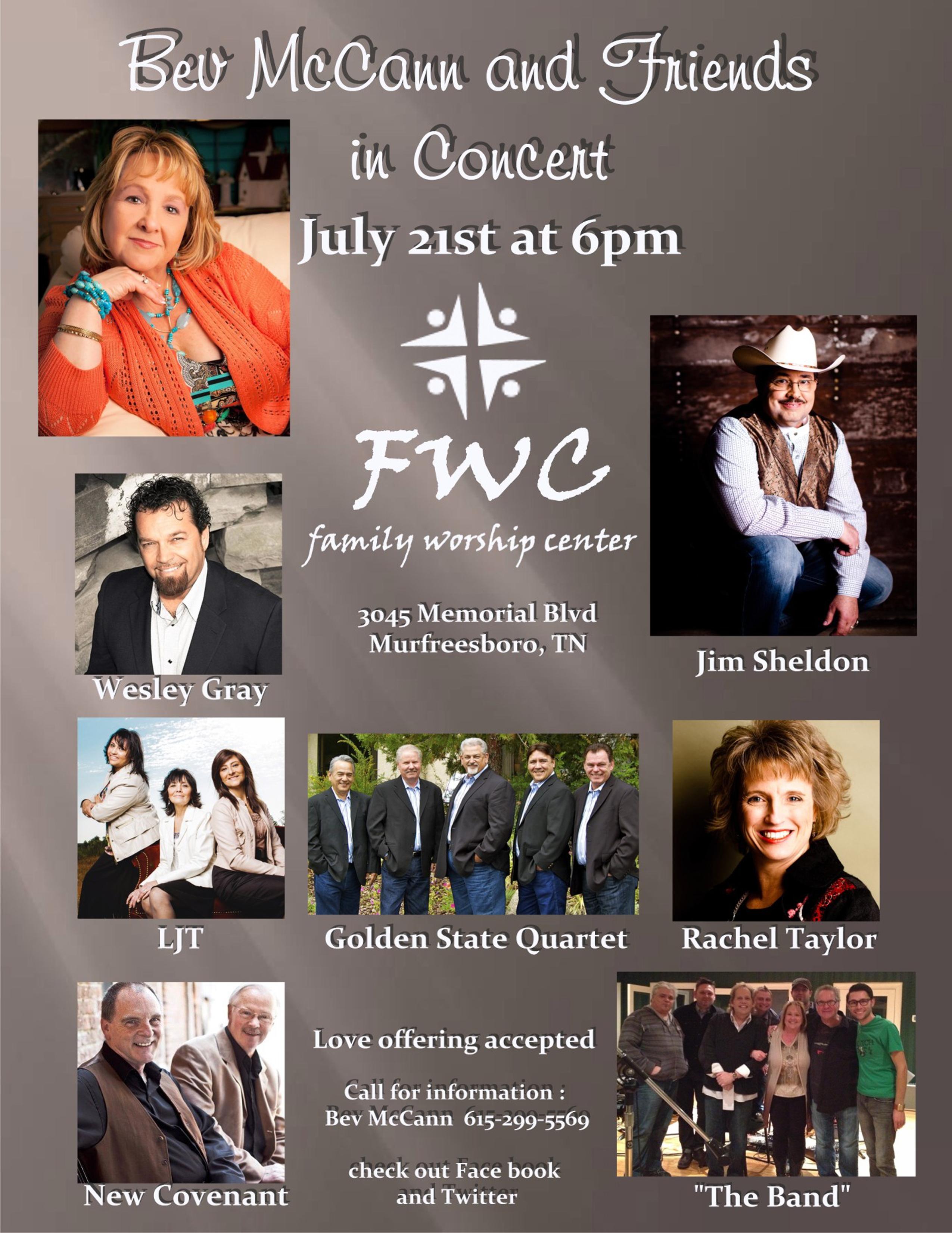 Bev McCann FWC concert  color flyer 2