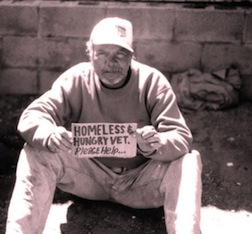 homeless vet