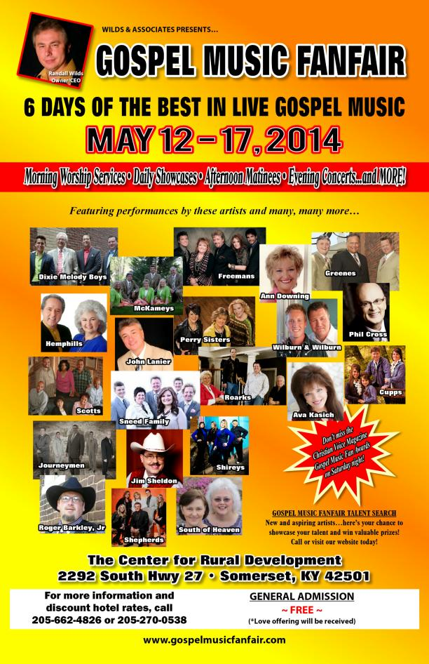 Gospel Music FanFair Poster 2014 72 dpi (1)