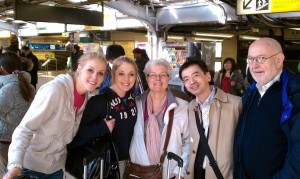 Taylors in Japan