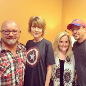 Dusty Wells, Kenna Turner West, Karen Peck & Benji Cowart at WORD