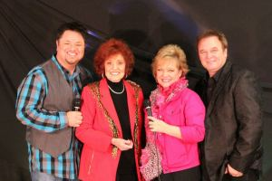 JP Miller, Lou Hildreth, Sheri Easter and Jeff Easter at the Diamond Awards 2012