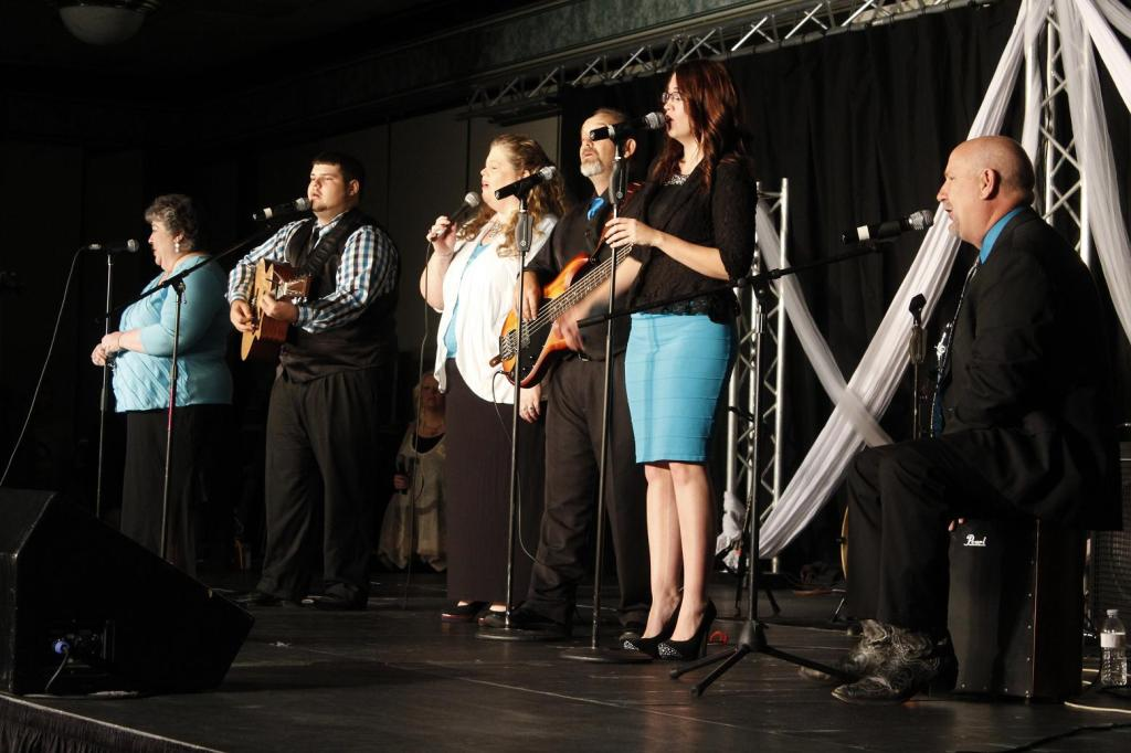 The Drummond Family performs at Creekside Gospel Music Convention