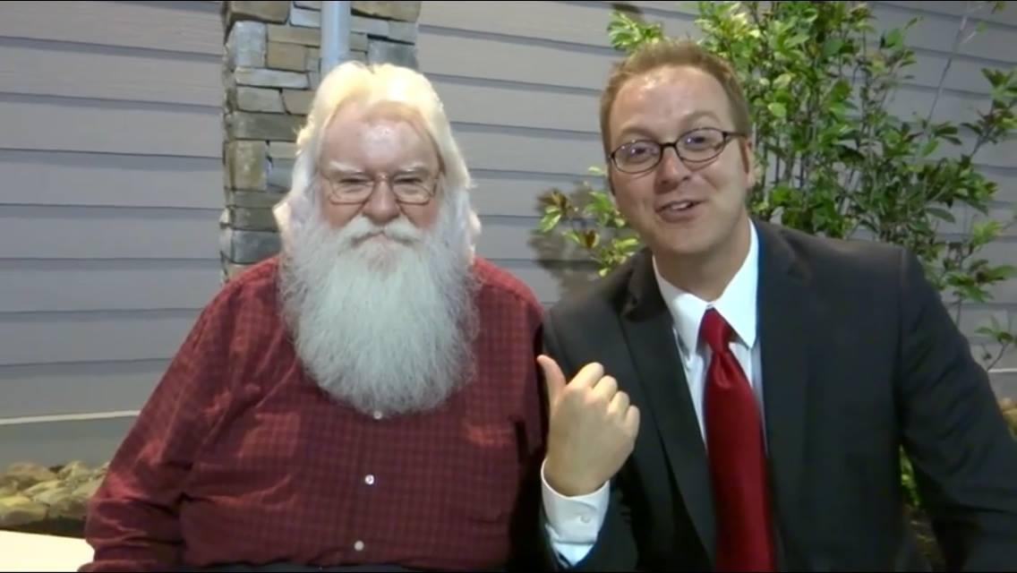 Matt Fouch And Santa