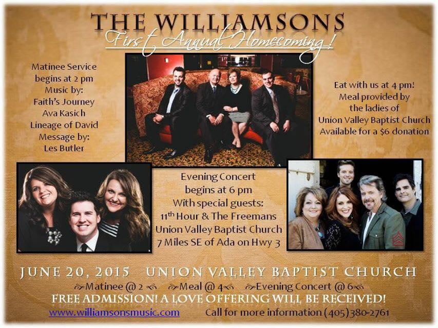 Williamsons Homecoming