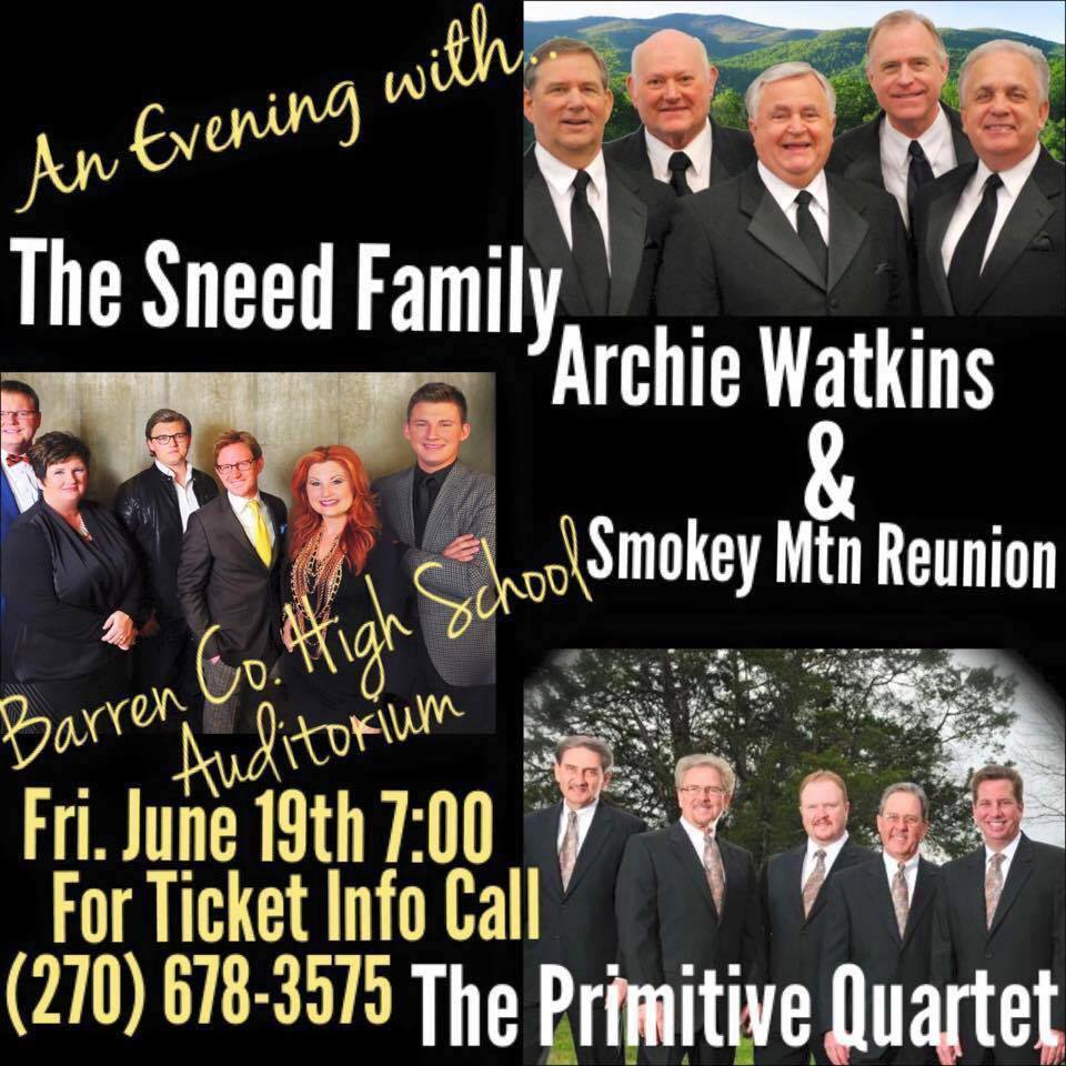 Sneed Family Concert