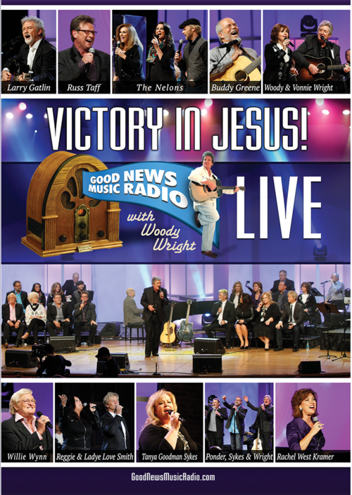 WOODY WRIGHT AND D. SCOTT KRAMER ANNOUNCE RELEASE OF VICTORY IN JESUS! AVAILABLE TODAY ON DVD