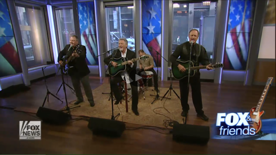 "LARRY GATLIN & THE GATLIN BROTHERS PERFORM ""AN AMERICAN WITH A REMINGTON"" ON FOX & FRIENDS"