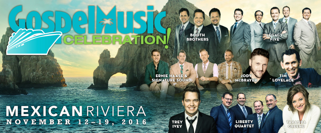 IMC CONCERTS ANNOUNCES GOSPEL MUSIC CELEBRATION CRUISE SAILING TO MEXICAN RIVIERA IN 2016