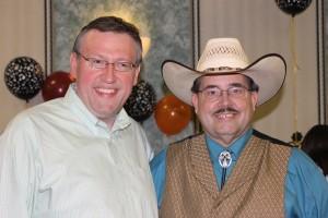 Rob Patz and Jim Sheldon