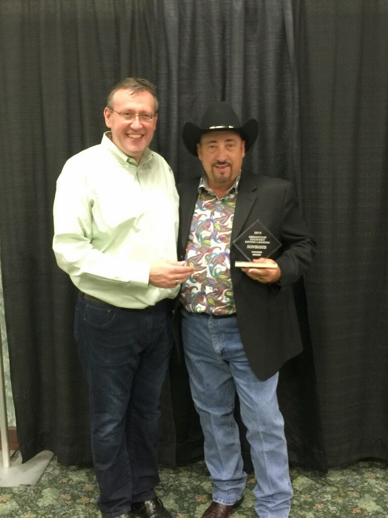 Rob Patz and Chuck Day at the Christian Country Expo