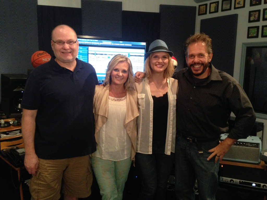 PICTURED in Menace Studios Left to Right: Dennis Dearing, Tonja Rose, Michael Lemonis and John Lemonis