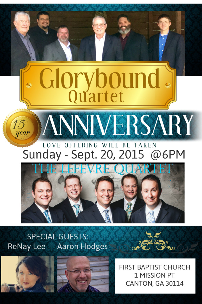 FINAL 2015 Glorybound Qt Anniv Poster