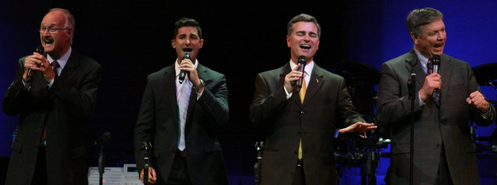 Photo C. Dignity Gospel Quartet- Wally Shuttlesworth, Clint Hebert, Josh Flynn, Russell Allen