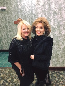 Vonda Easley and Jan Goff
