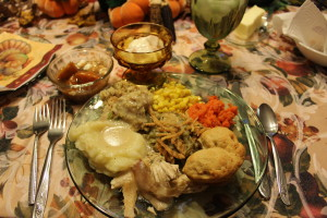 Thanksgiving Dinner by Jennifer Campbell