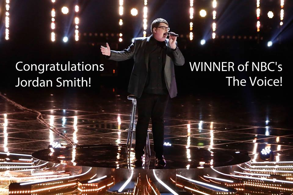 Jordan Smith Winner Of The Voice