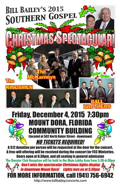 Bill Bailey's Southern Gospel Christmas Spectacular