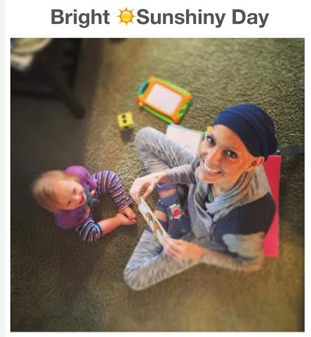 Joey Feek Enjoys Sunny Day Out of Bed with Daughter