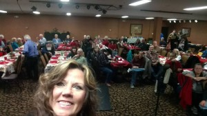 Country Gospel Music Association banquet Christmas
