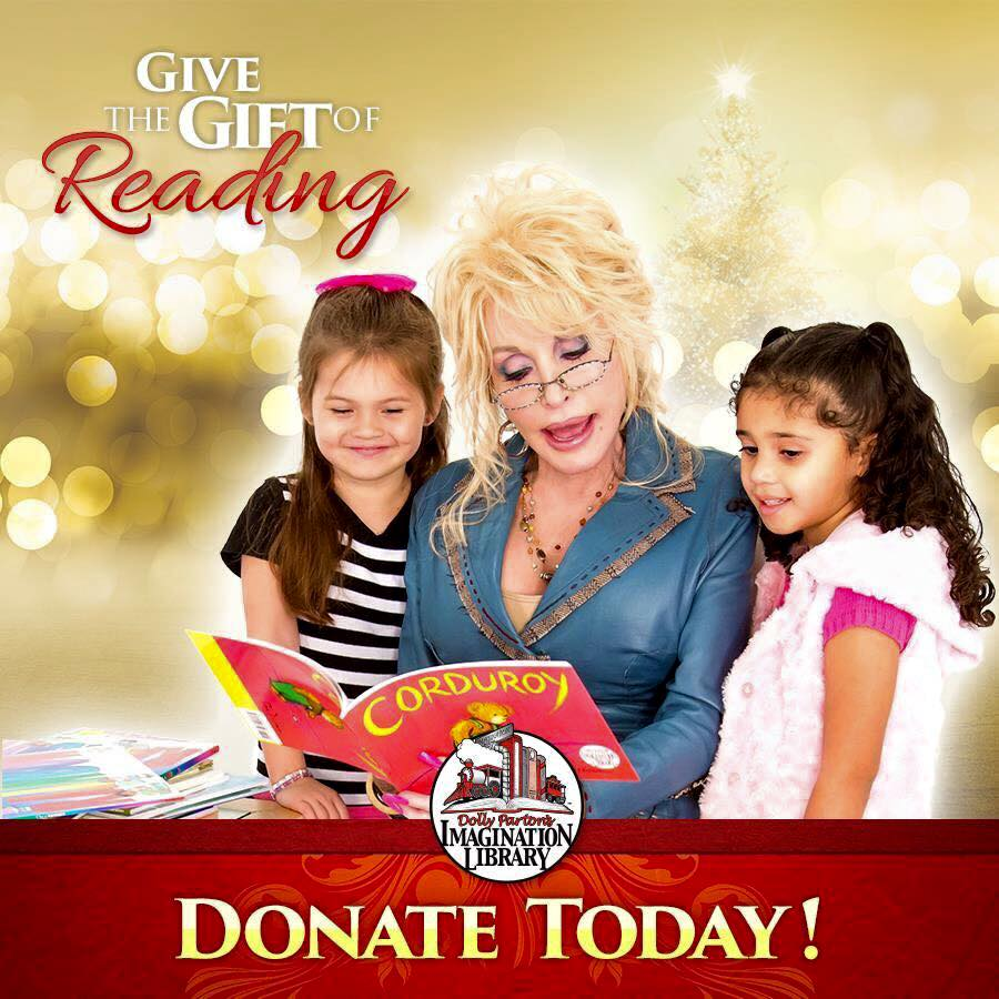 Big News For Dolly Parton's Imagination Library