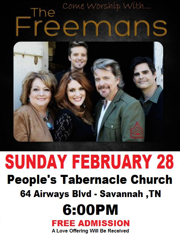 The Freemans In Concert