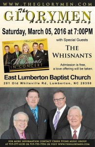 Whisnants at Glorymen anniversary