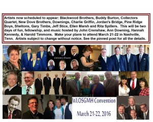 We Love Our Southern Gospel History Convention