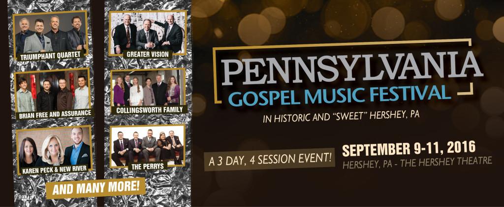 Hershey PA To Host Annual Gospel Music Festival - September 9-11