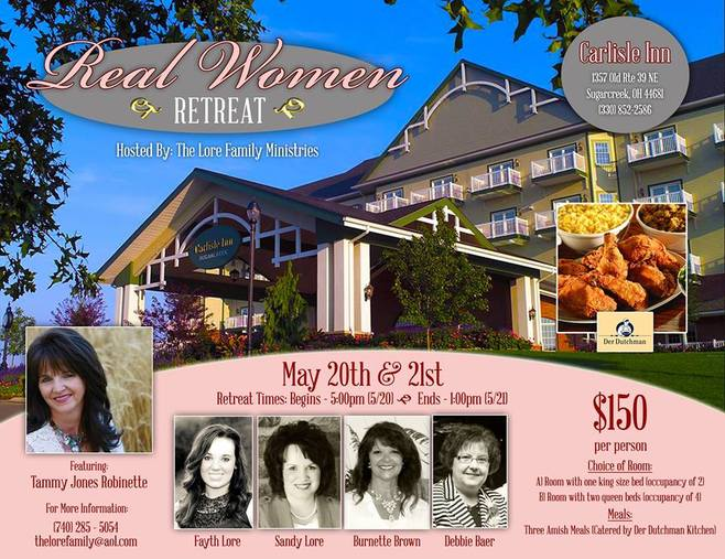 Lore Family presents Real Women Retreat