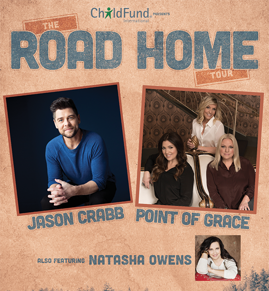 Jason Crabb, Point of Grace, Natasha Owens