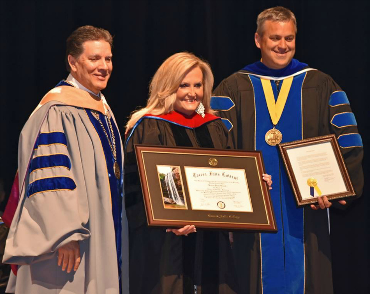 Karen Peck Receives Honorary Doctorate Degree In Divinity