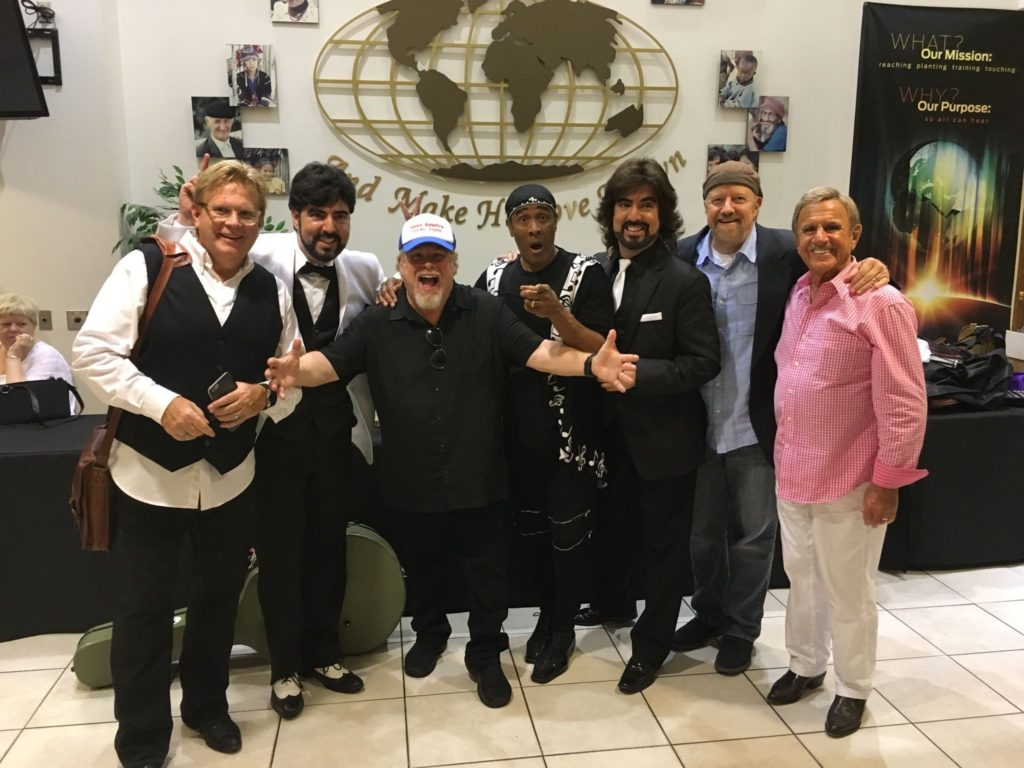 Chrisagis Brothers Legends tour with Scott Wesley Brown,Leon Patillo,Dave Boyer, Bruce Carroll, Steve Camp