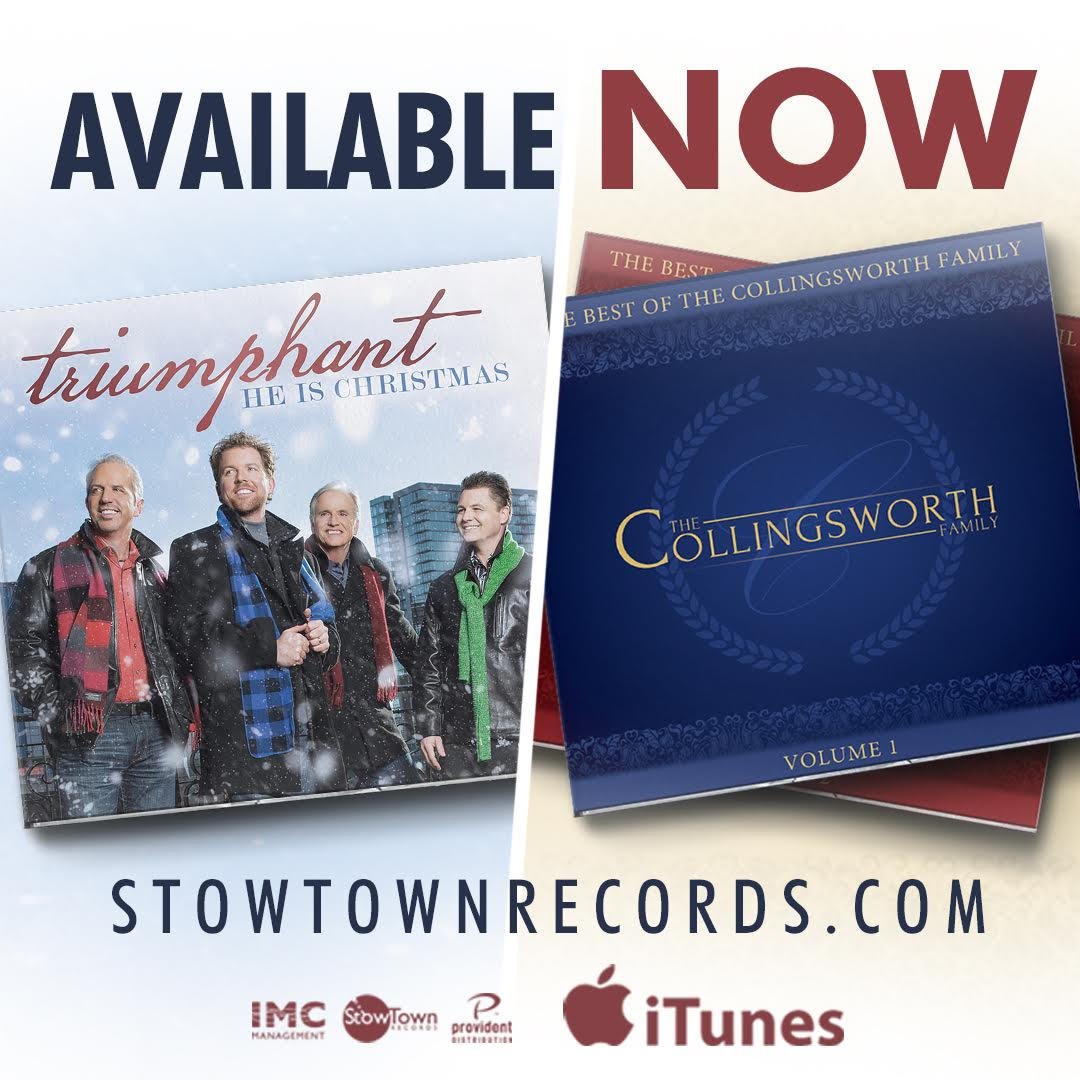 StowTown Records Announces Two New Releases from the Collingsworth Family and Triumphant