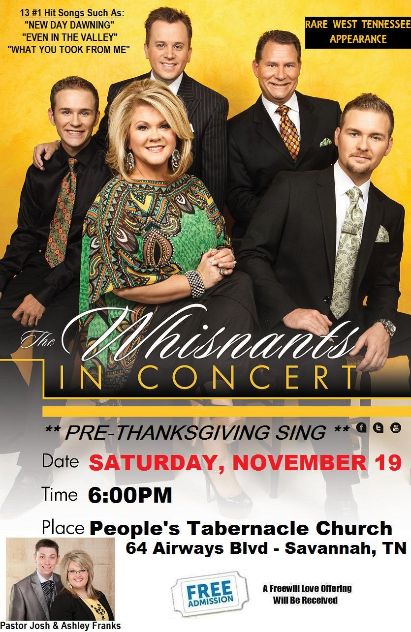 The Whisnants In Concert