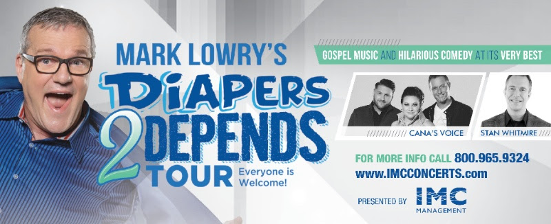 MARK LOWRY TEAMS WITH CANA'S VOICE TO PRESENT DIAPERS TO DEPENDS TOUR