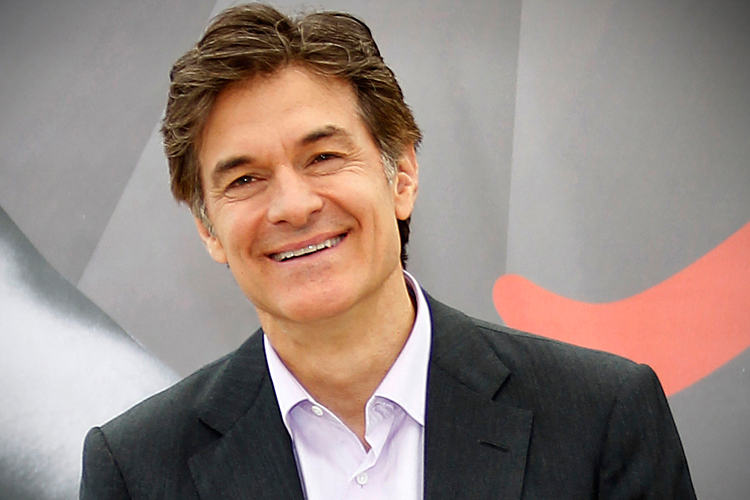 DR. OZ PUTS POWER OF FAITH FRONT AND CENTER WITH 'FAITHFUL FRIDAYS'