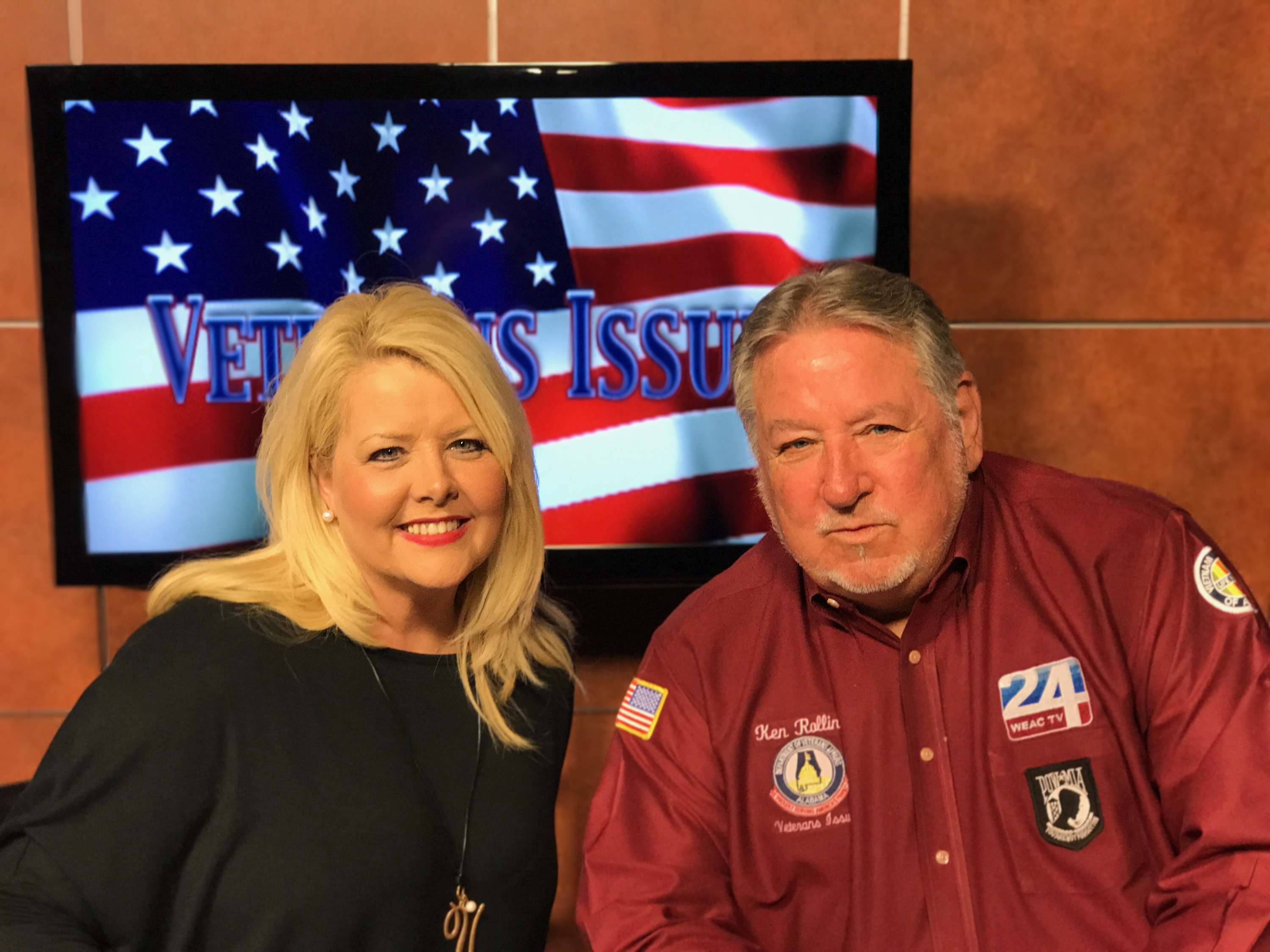 Vonda Easley Of Southern Gospel Weekend Talking To Ken Rollins Of Channel 24