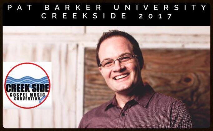 Pat Barker University will be held at Creekside 2017