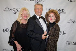 Vonda Easley, Dr. Jerry and Jan Goff at the Diamond Awards