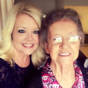 Vonda Easley and her mom, Margaret Turner