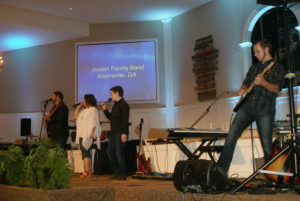 Jordan Family Band at Alabama Quartet Convention