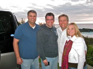 The Greenes. Jeff Snyder, Tony Greene, TaRanda Greene, John Jeffrey