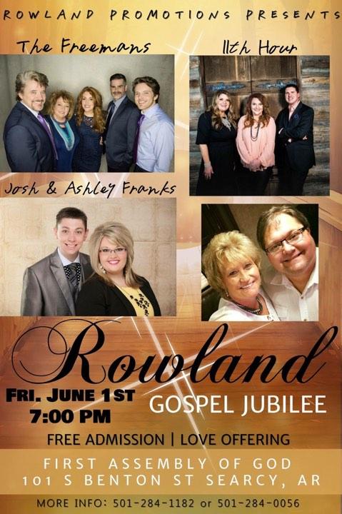 Rowland Gospel Jubilee
