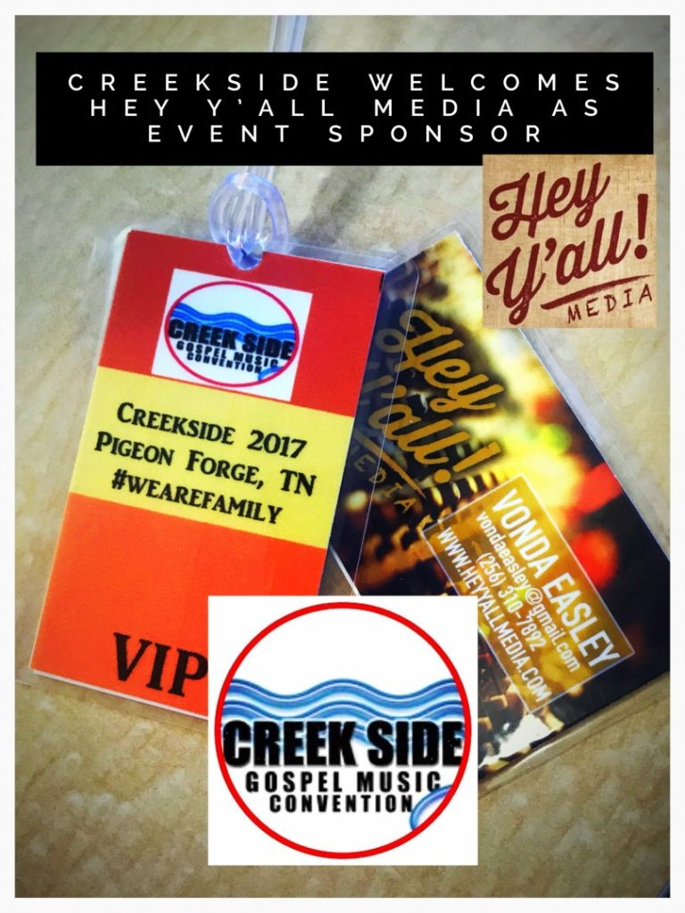 Creekside welcomes Hey Y'all Media as Sponsor