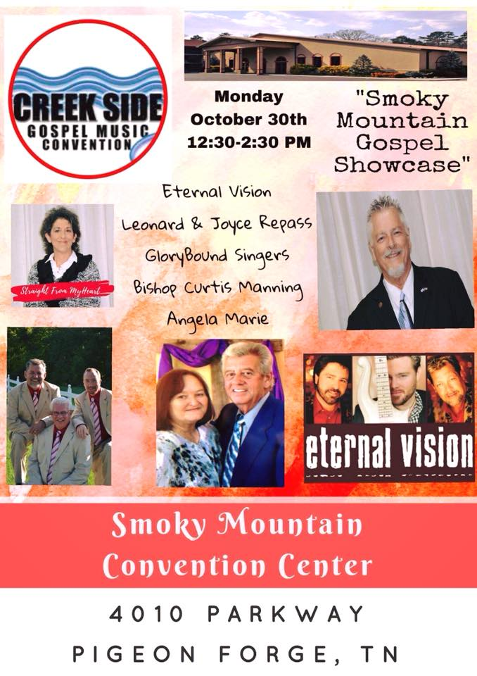 Smoky Mountain Gospel Showcase to be featured at Creekside 2017