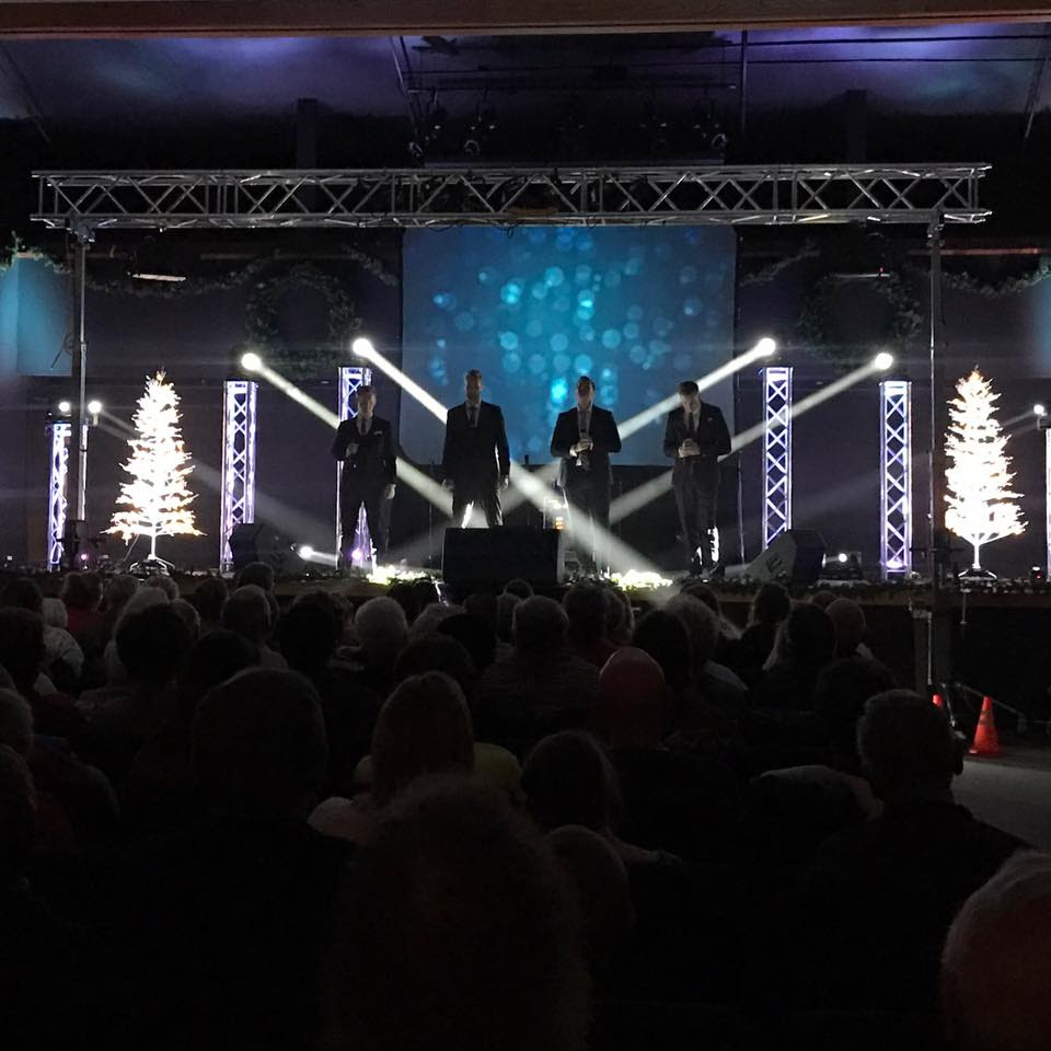 THE BALL BROTHERS TAKE 12 STATE CHRISTMAS TOUR