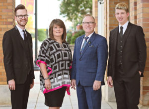 The Troy Burns Family Reach An Exclusive Booking Agreement With The April Potter Agency