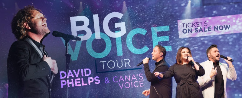 Grammy Winning Recording Artist, David Phelps Teams With Cana's Voice To Present The Big Voice Tour