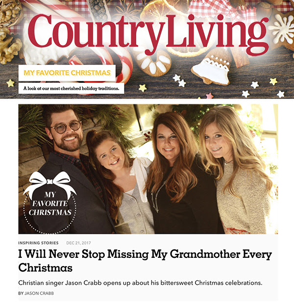 Jason Crabb in Country Living